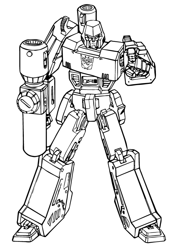 Sound wave transformer coloring page free coloring pages for Transformers g1 coloring pages