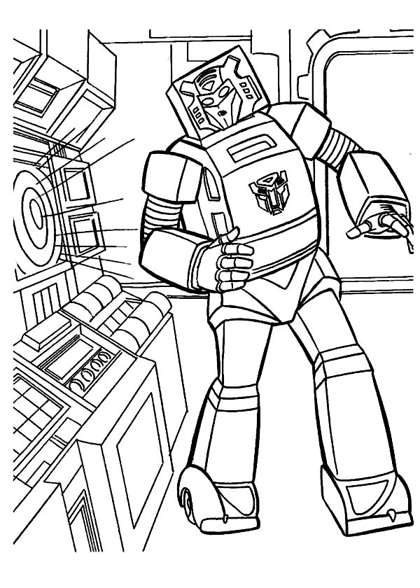 Transformers Bumblebee Listening To Music