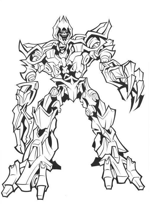 Transformers Megatron The Evil Master