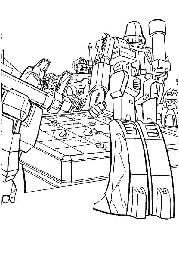 Transformers Planning A War