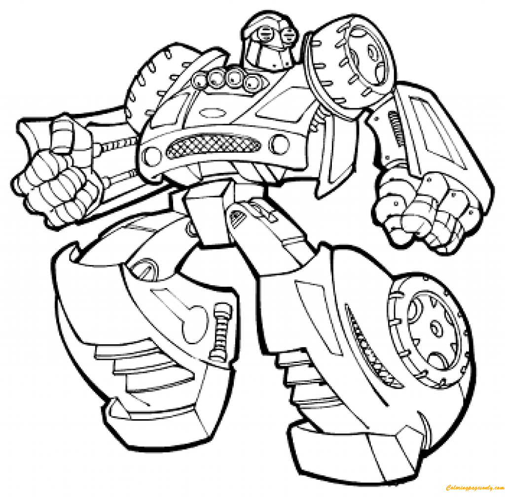 Transformers Rescue Bots Coloring Page Free Coloring Pages Online Rescue Bot Coloring Pages