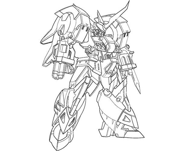 Transformers Scorponok Coloring Page
