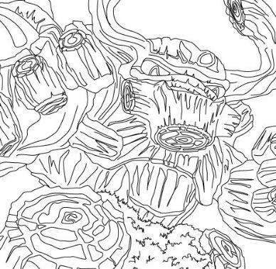 Treerex Skylanders Coloring Page