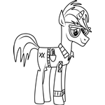 Trenderhoof from My Little Pony