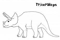 Triceratops Dinosaur 5