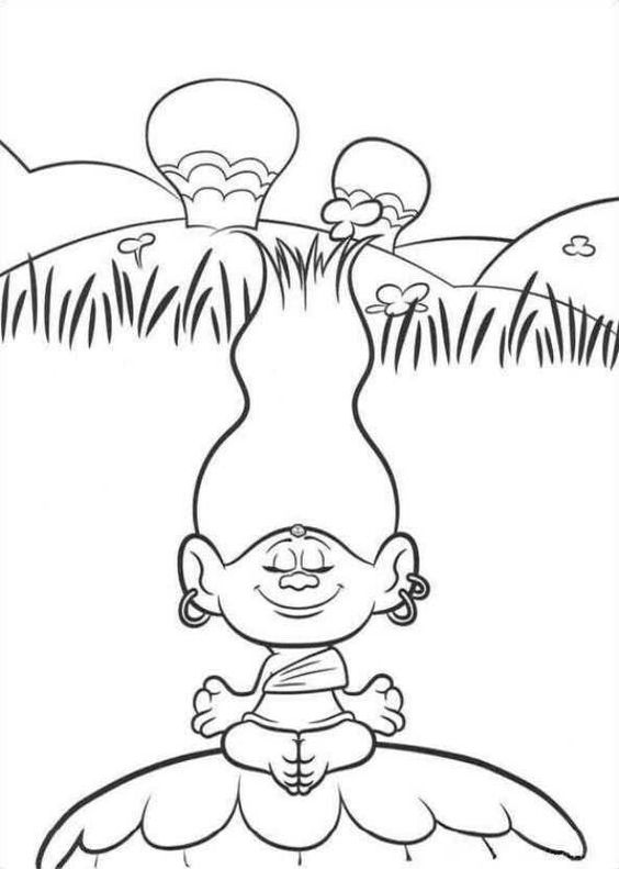 Troll Coloring Page Free Coloring Pages Online