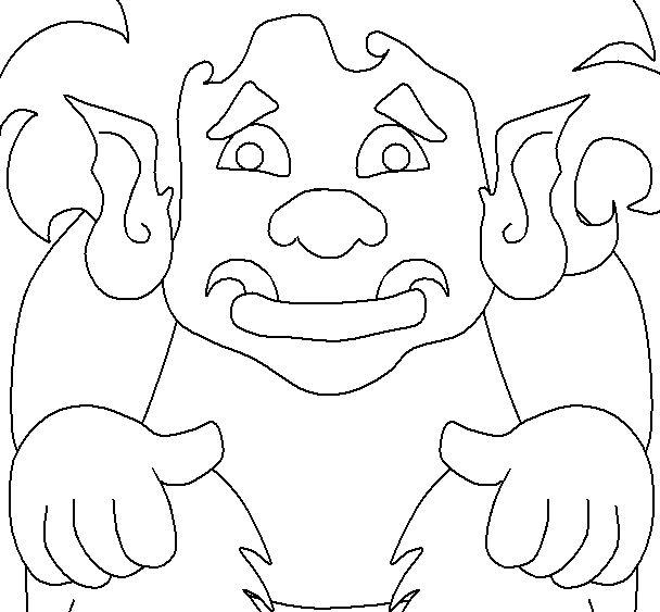 Trolls 5 Fantasy Coloring Page
