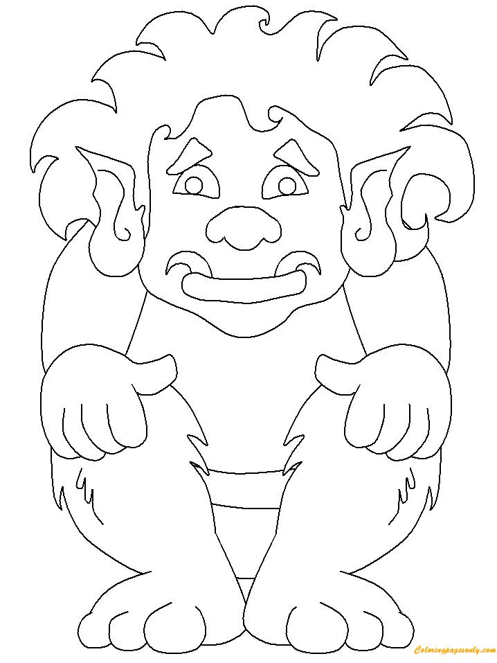 Trolls 5 Fantasy Coloring Pages
