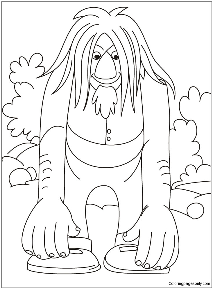Trolls Picture Coloring Page Free Coloring Pages Online