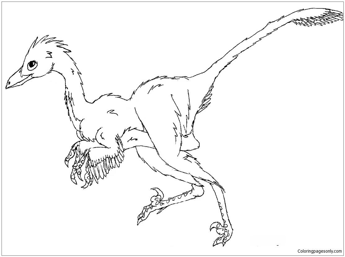Alamosaurus and Tyrannosaurus coloring page | Free Printable ... | 829x1113