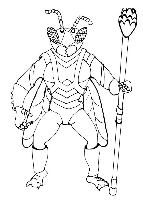 Twitch Coloring Page