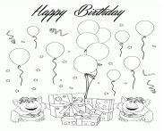 Two Trolls Happy Birthday