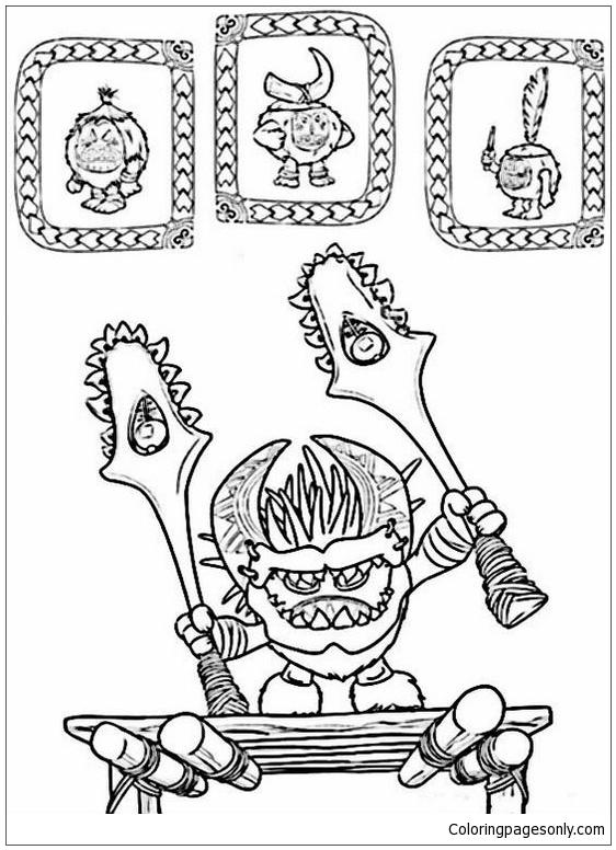 Vaiana - Moana Disney Coloring Page