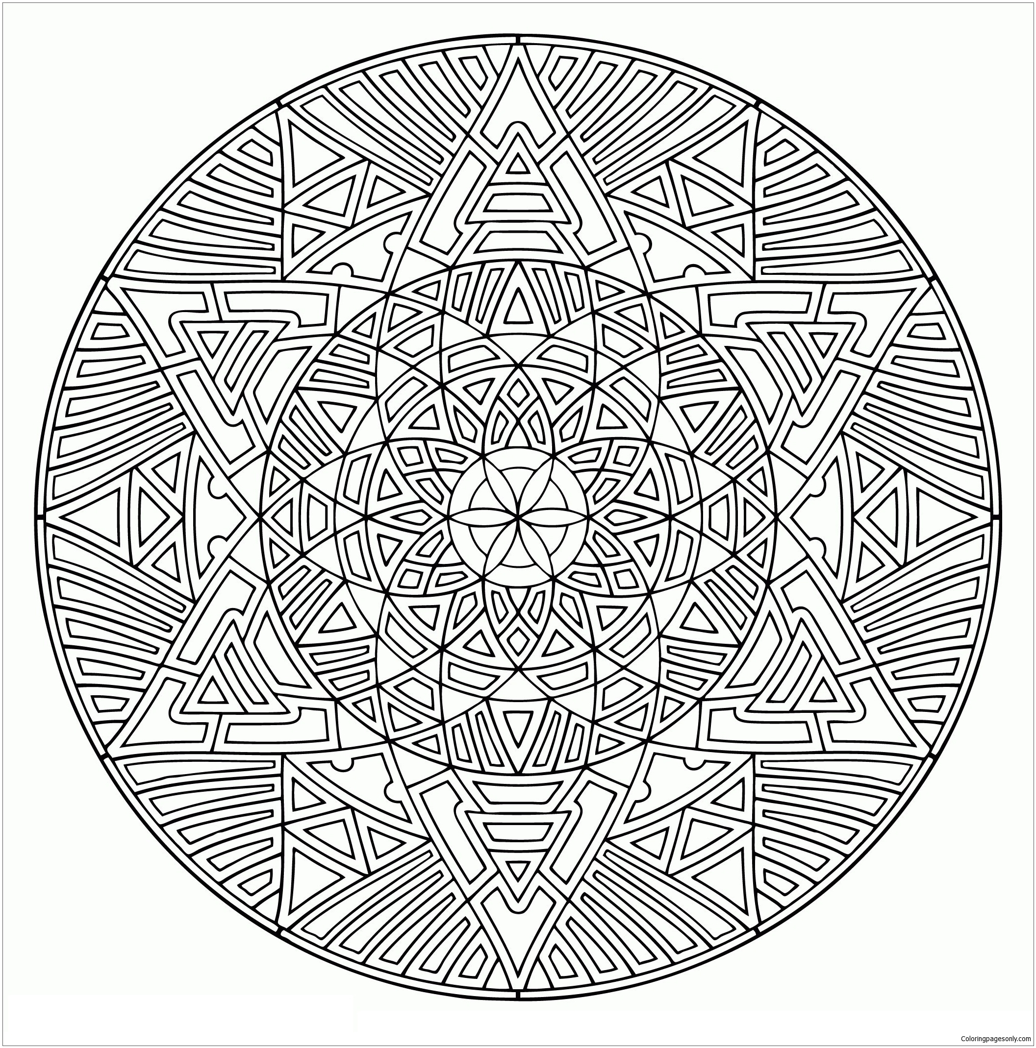 - Valid Mandala Coloring Page - Free Coloring Pages Online