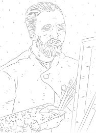 Van Gogh Self Portrait 1