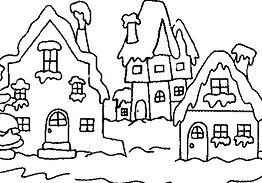 Village In Winter 1