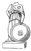 Warrior Without Head Coloring Page