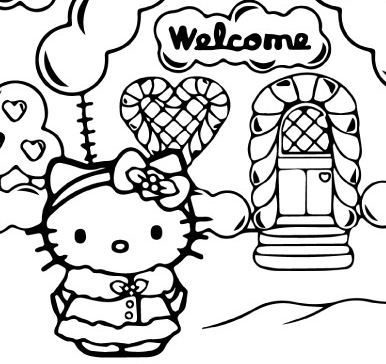 Welcome To House Of Hello Kitty