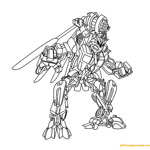 Windmill Transformers Coloring Page Free Coloring Pages