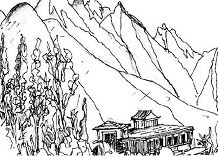 Wing Mountainspm Coloring Page