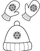Winter Hat and Mittens