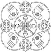 Winter Mandala