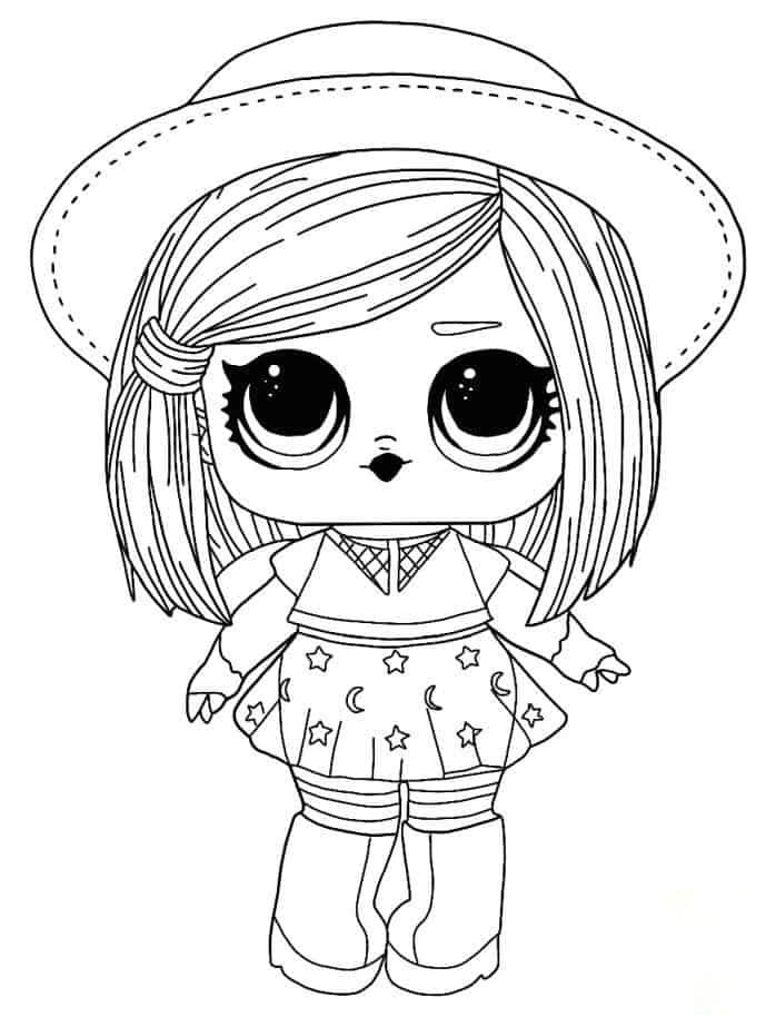 Lol Suprise Doll Witchay Babay Coloring Page