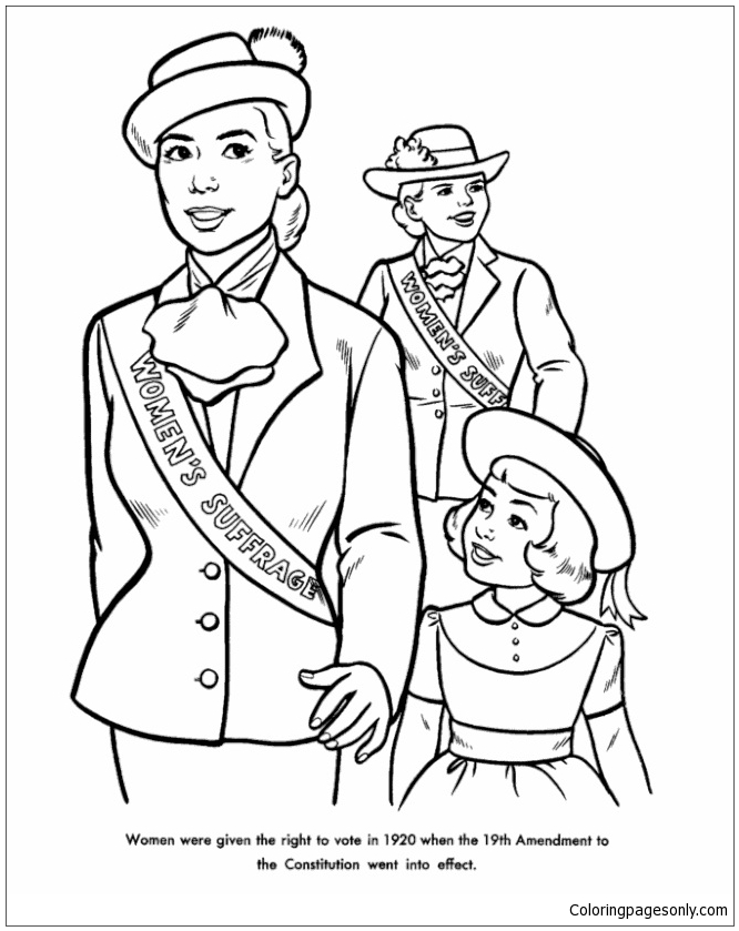 Constitution Day Coloring Sheets - Get Coloring Pages | 839x666