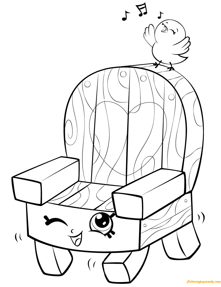 Woody Garden Chair Shopkin Season 5 Coloring Pages - Toys And Dolls Coloring  Pages - Free Printable Coloring Pages Online