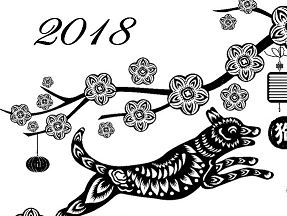 Year Of The Dog Coloring Page
