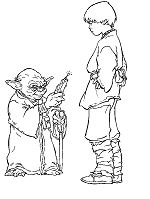 Yoda and Anakin Skywalker – Star Wars