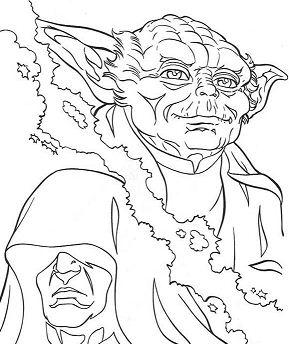 Yoda And Emperor