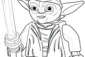 Yoda From Star Wars - image 2 Coloring Page