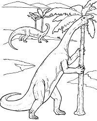 Yunnanosaurus Prosauropod Dinosaur Coloring Page