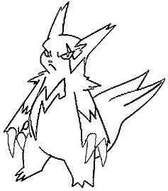 Zangoose Pokemon Coloring Page