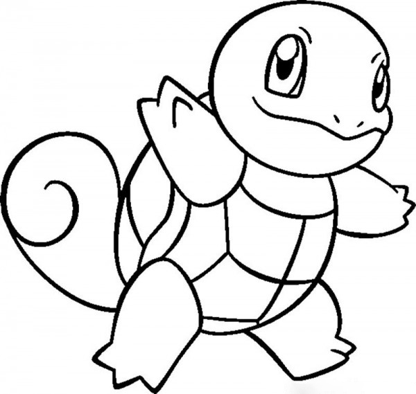 Zenigame turtle Coloring Page