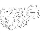 Zigzagoon From Pokemon Coloring Page