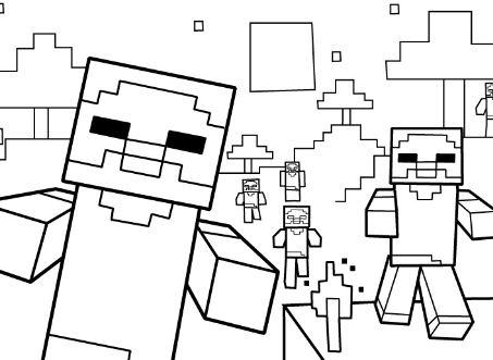 Zombies Minecaft
