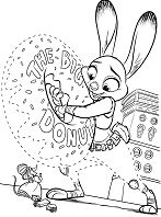 Zootopia – image 10 Coloring Page
