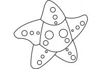 Adopt me Starfish has three spots on each arm Coloring Page