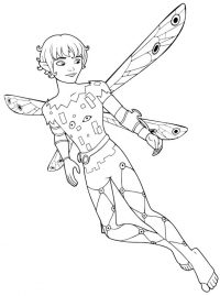 The prince of Centopia Prince Mo from Mia and me Coloring Page