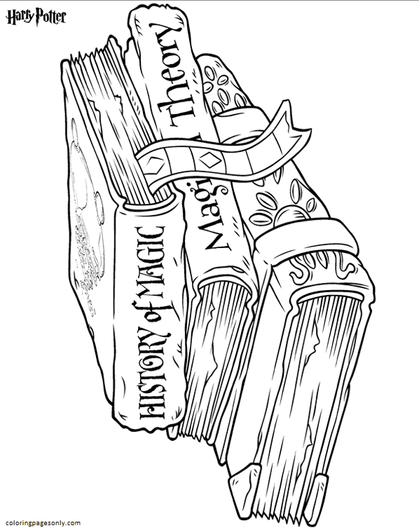 Book 1 Coloring Page
