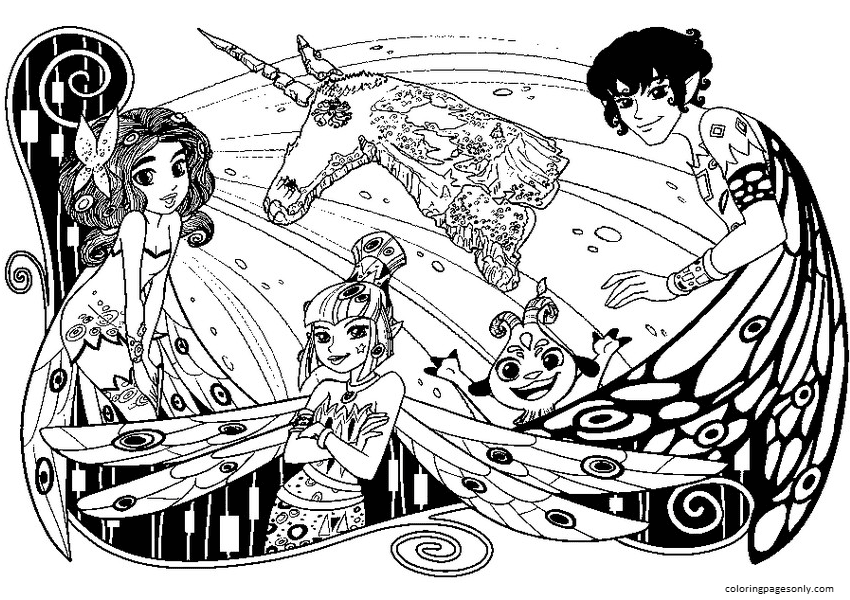 Centopia Coloring Page