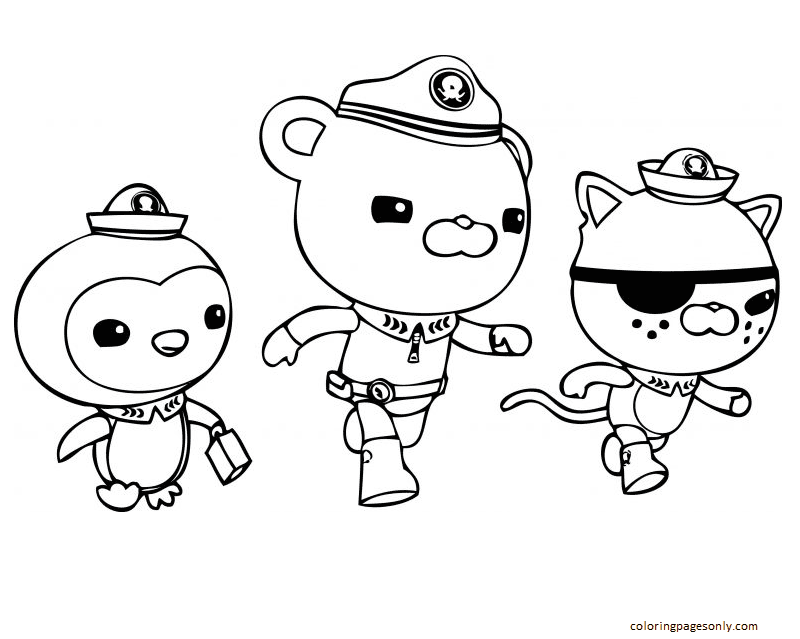 Free Octonauts Coloring Page