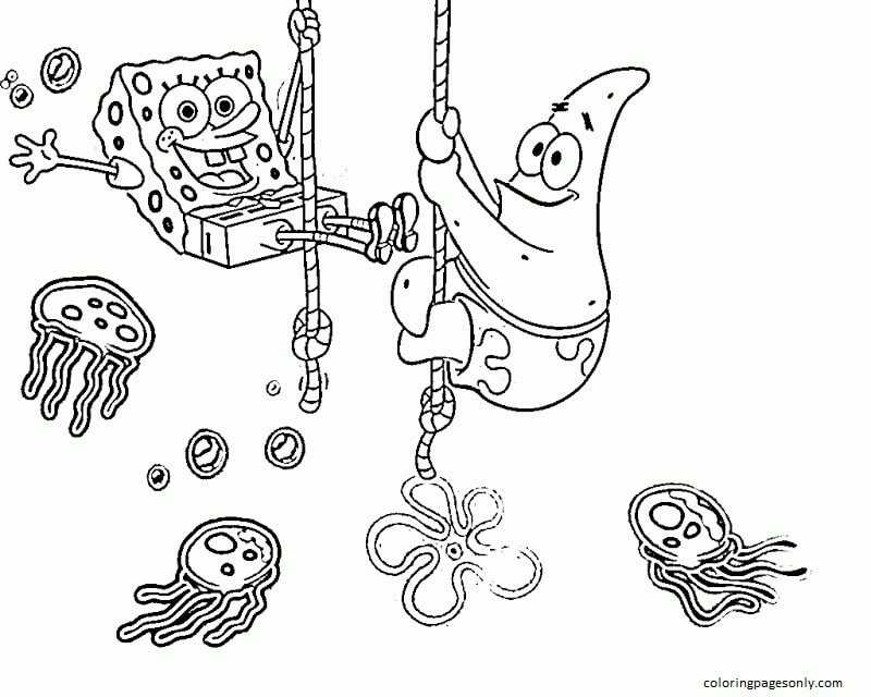 Free Printable Spongebob Coloring Page