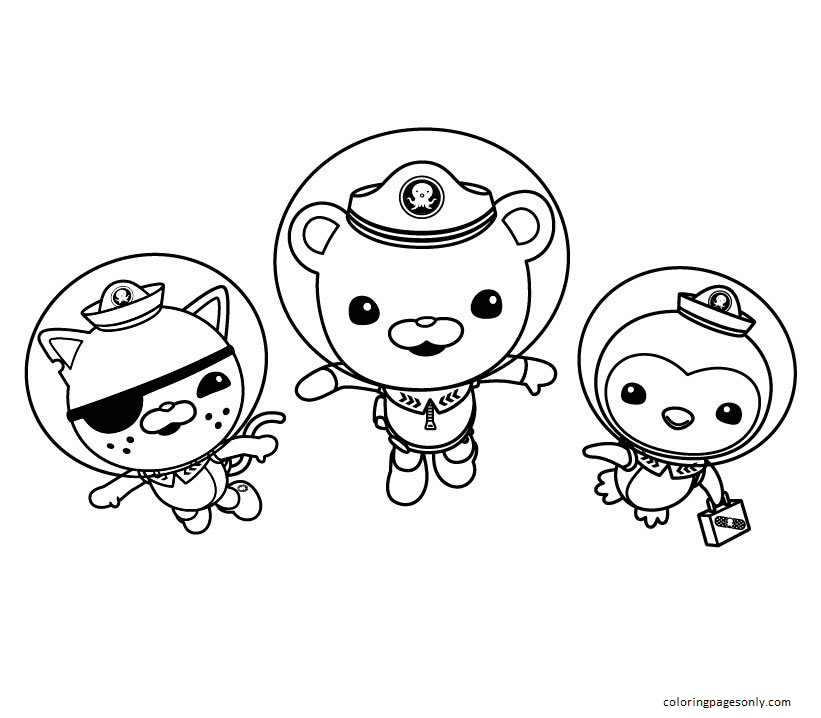 Image Octonauts Coloring Page