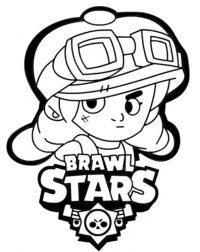 Brawl Stars Coloring Page