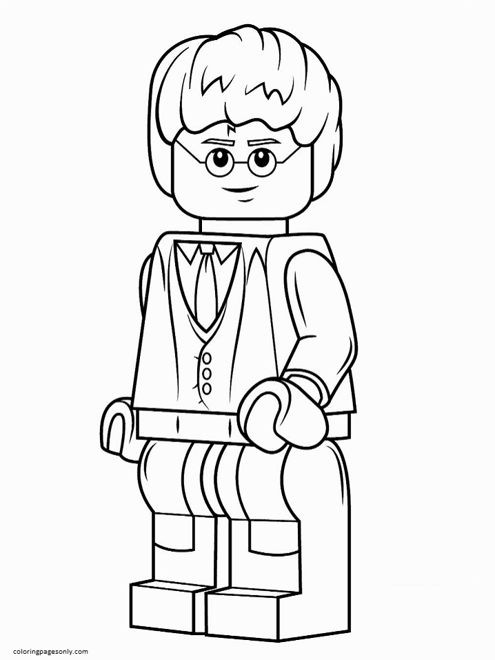 Lego Harry Potter 1 Coloring Page