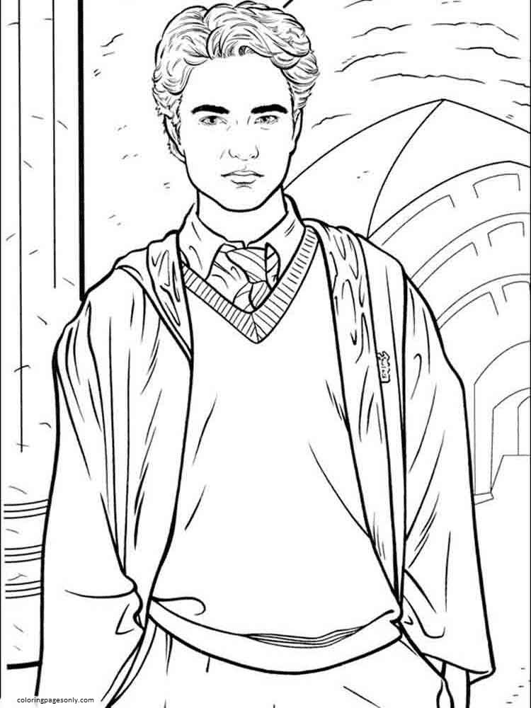 Lego Harry Potter 2 Coloring Page