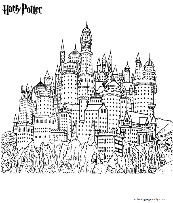 Lego Harry Potter 3 Coloring Page